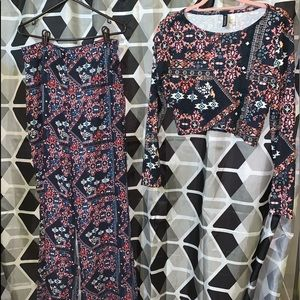 *NEVER WORN WO TAGS* H&M Two Piece Set!